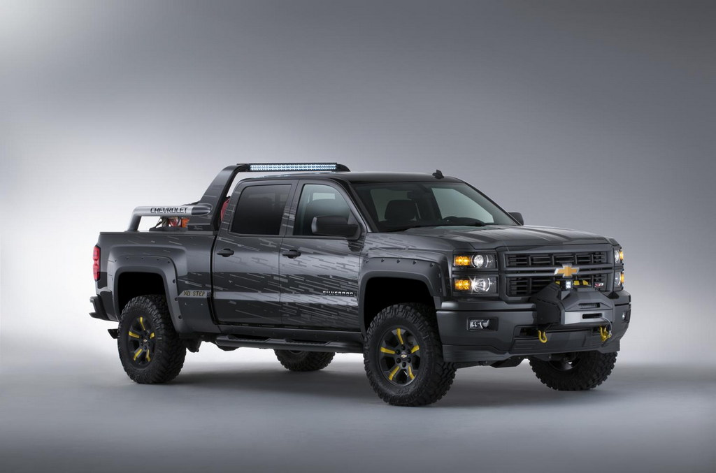 Volvo First Aid Kit >> SEMA Preview: Chevrolet Silverado Black Ops Concept