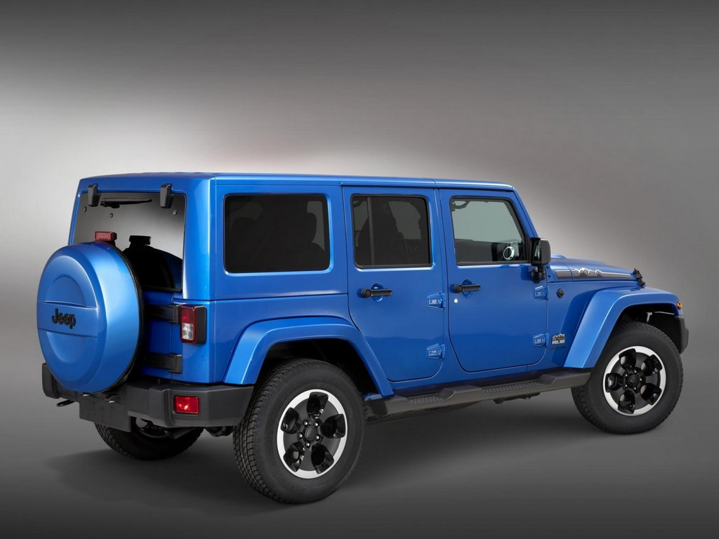 jeep wrangler polar limited edition revealed. Black Bedroom Furniture Sets. Home Design Ideas