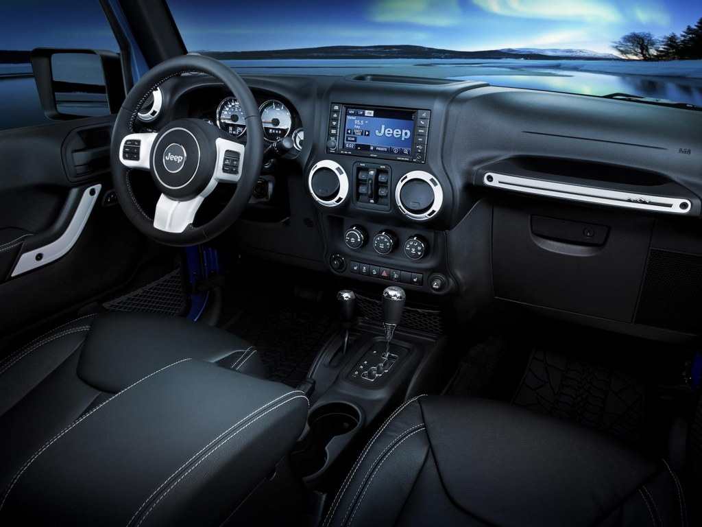 Франкфурт-2013: Jeep построил арктич…