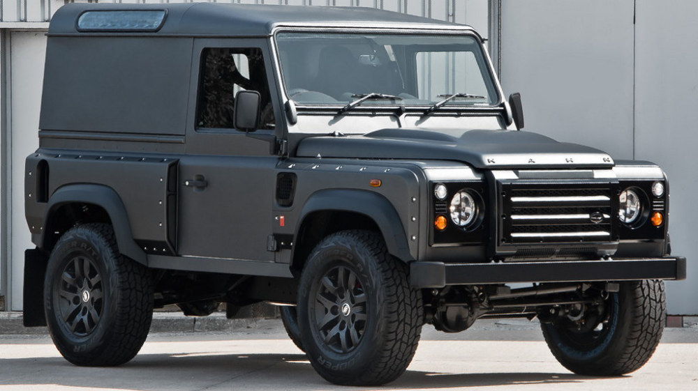 kahn design land rover defender 90 hardtop. Black Bedroom Furniture Sets. Home Design Ideas