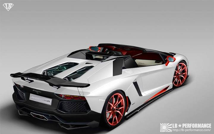 Lamborghini Aventador Roadster By Liberty Walk Preview