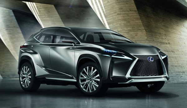 Lexus LF NX Crossover 11 600x348 at Lexus LF NX Crossover Concept Unveiled