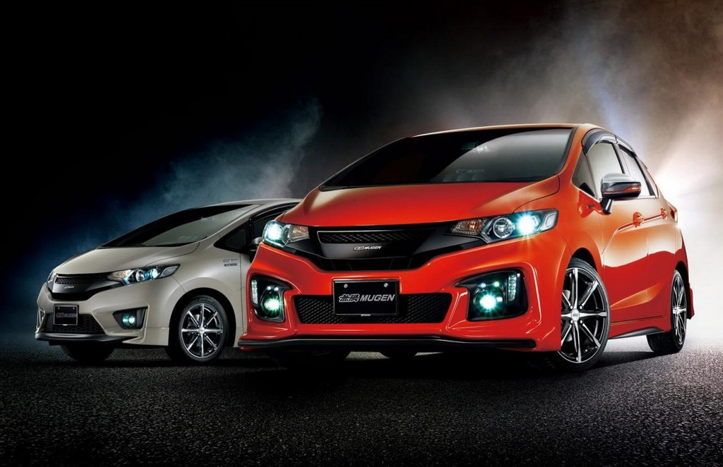 Logbook Honda Fit Mugen Edition: Mugen Honda Fit Revealed In Full