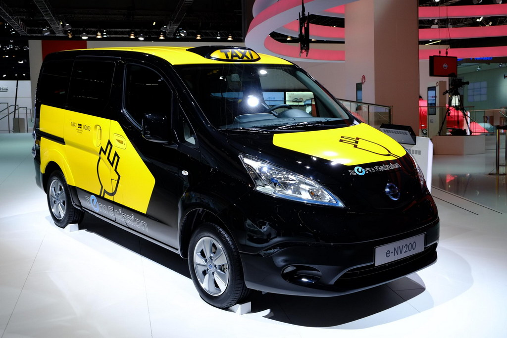 Iaa 2013 Nissan E Nv200 Electric Taxi