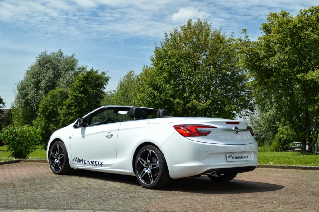 opel cascada upgraded by steinmetz. Black Bedroom Furniture Sets. Home Design Ideas