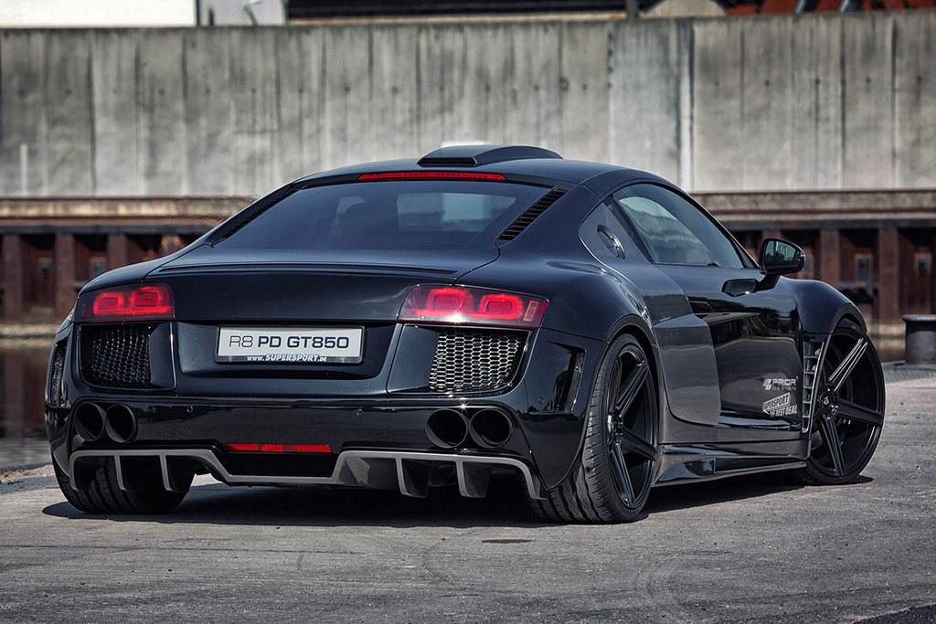Prior Design Audi R8 Widebody In Black