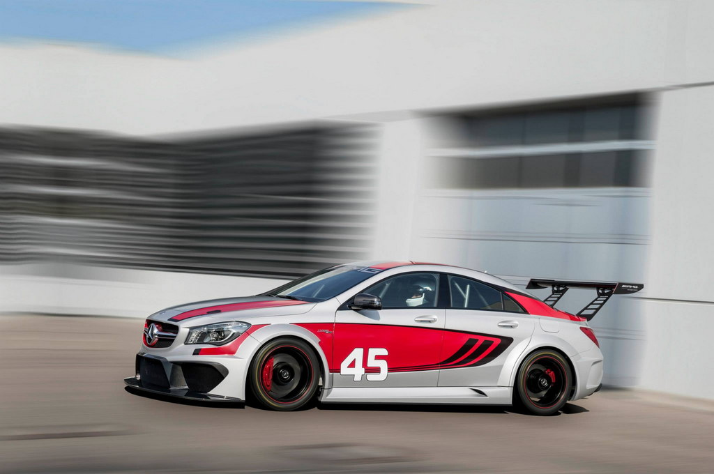 mercedes cla 45 amg racing series set for iaa debut. Black Bedroom Furniture Sets. Home Design Ideas