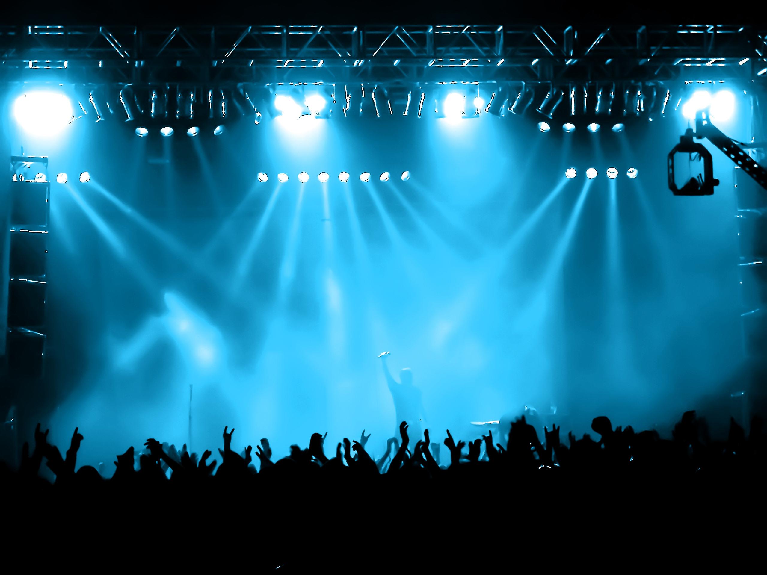 Rock Stage Lights rock concert stage background for pinterest