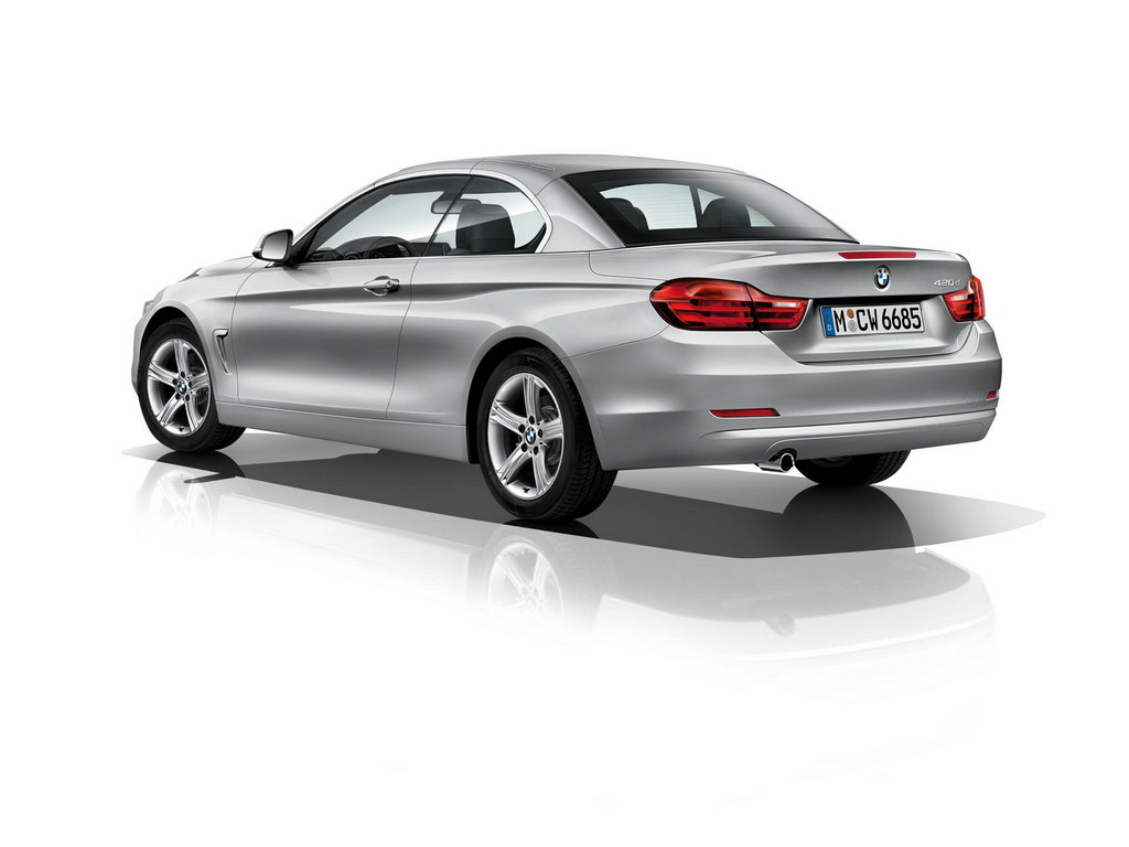 bmw 4 series convertible officially unveiled. Black Bedroom Furniture Sets. Home Design Ideas