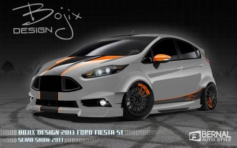 Custom Ford Fiesta Models For 2013 Sema Show