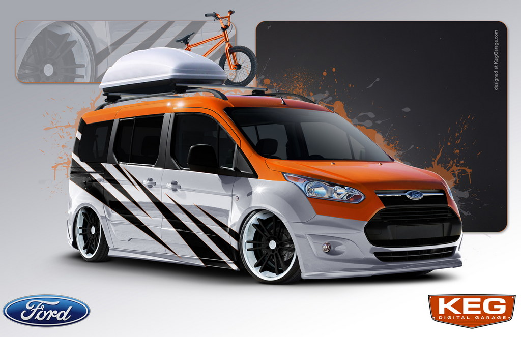 Ten Customized Ford Transit Vans Coming To Sema
