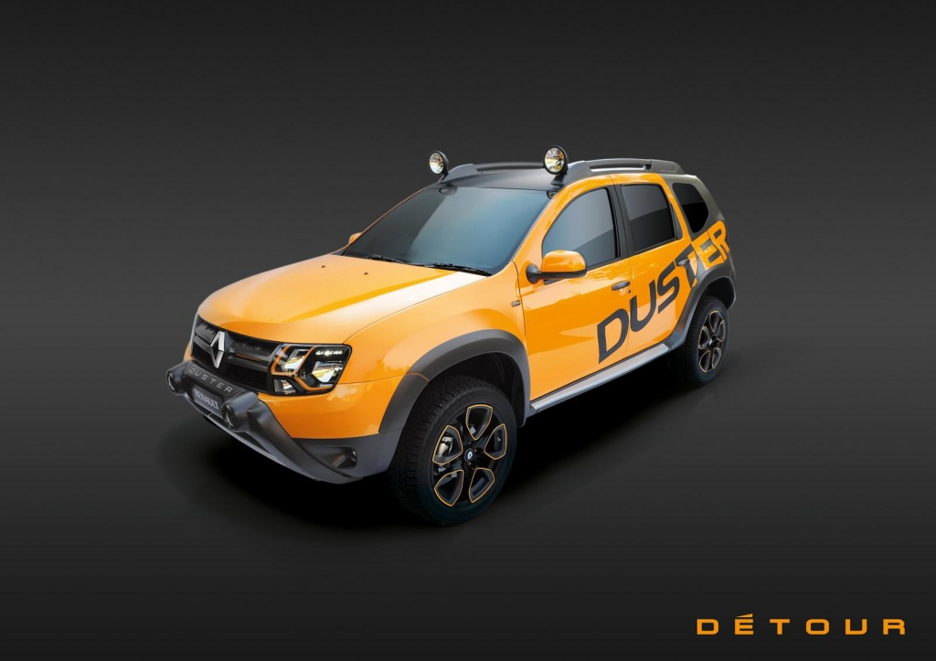 dacia duster detour concept unveiled. Black Bedroom Furniture Sets. Home Design Ideas