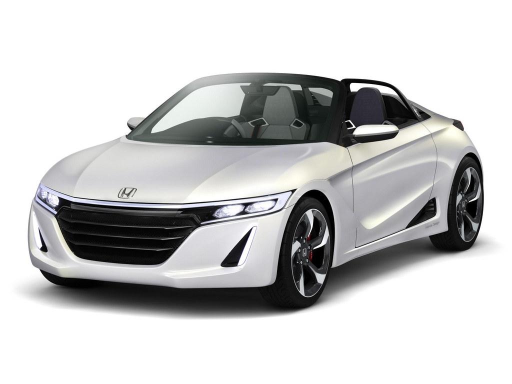 Honda S660 Sports Car Concept To Debut At Tokyo Motor Show