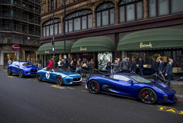 Jaguar Concepts 1 600x403 at Jaguar Concepts Take Over Harrods