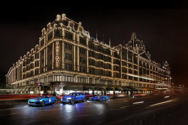 Jaguar Concepts 3 600x400 at Jaguar Concepts Take Over Harrods