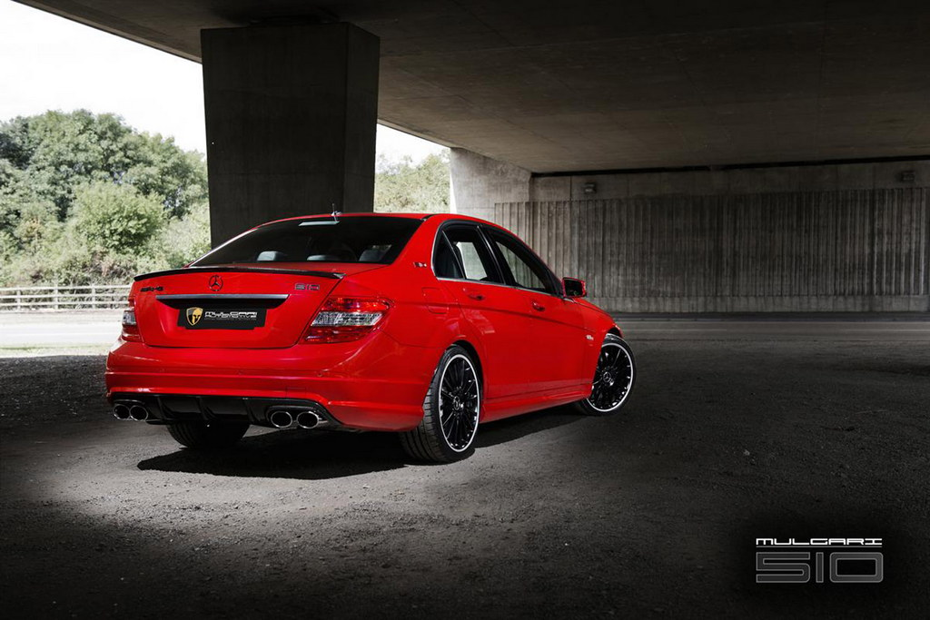Mercedes c63 amg by mulgari for How much is a mercedes benz c63 amg