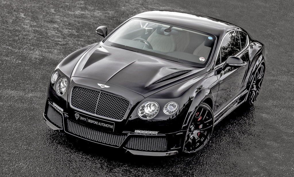 Onyx Bentley Continental Gtvx Revealed