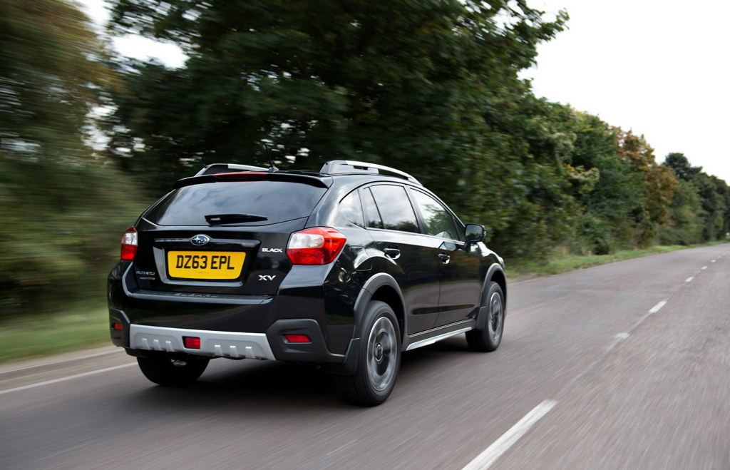 Subaru Xv Black Limited Edition Announced For Uk