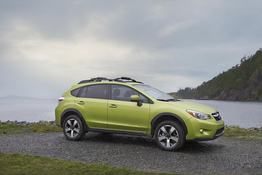 subaru xv crosstrek hybrid pricing announced. Black Bedroom Furniture Sets. Home Design Ideas