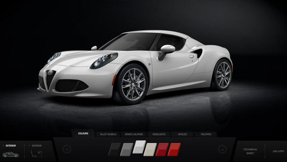 Virtual Alfa Romeo 4C 1 600x339 At Build Yourself A Virtual Alfa Romeo 4C