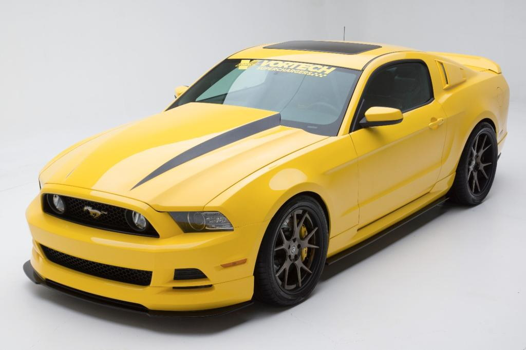 Vortech Yellow Jacket Mustang: SEMA Preview