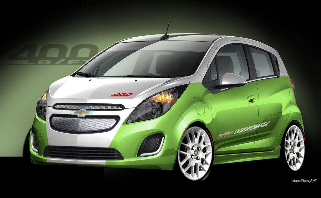 Chevrolet Sonic Concepts Sema Preview
