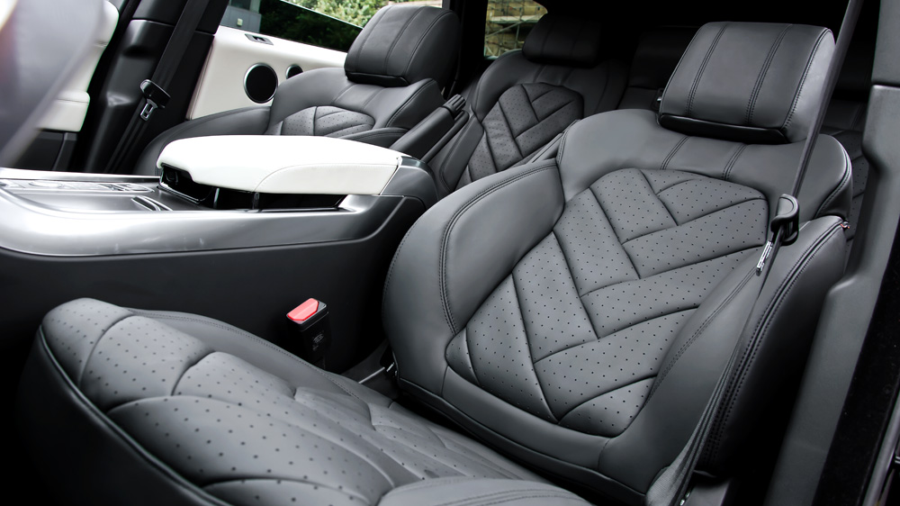 Kahn Executive Interior For 2014 Range Rover Sport
