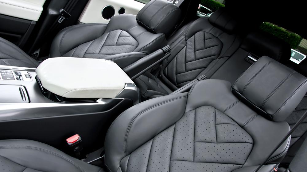 Kahn Executive Interior For 2014 Range Rover Sport