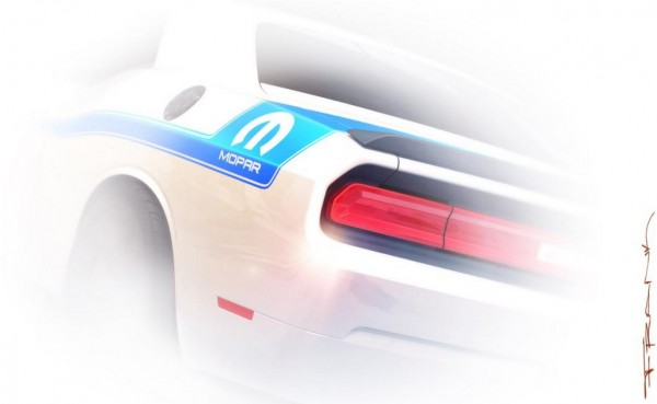 mopar 14 600x369 at Mopar '14 Teased Ahead of SEMA Debut
