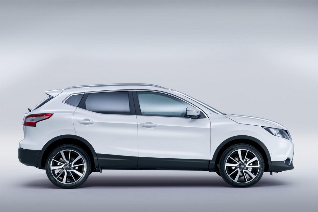 2014 nissan qashqai officially unveiled. Black Bedroom Furniture Sets. Home Design Ideas