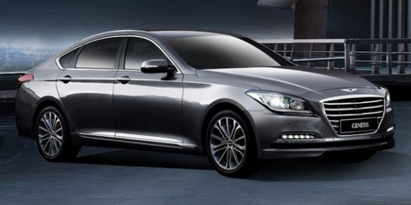 2015 Hyundai Genesis Sedan Unveiled
