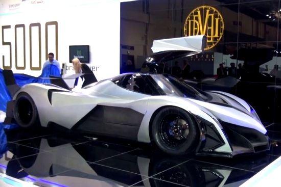 Devel Sixteen: 5000 Horsepower V16 Hyper Car from Dubai
