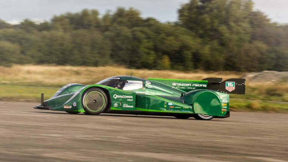 Chris Harris Gets To Grips With Drayson Electric Racing Car