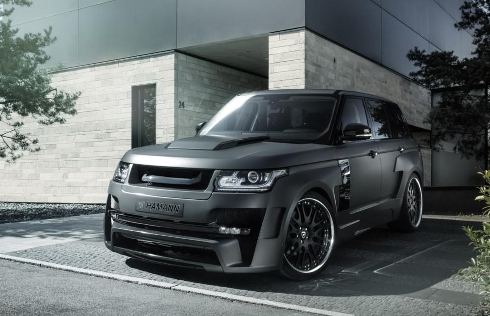 Hamann Range Rover Mystere Updated For Essen