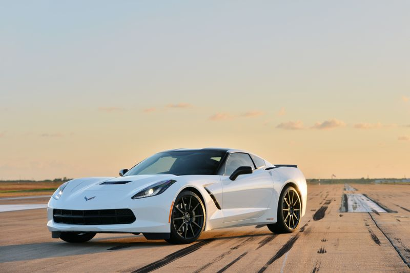 Hennessey Corvette Stingray Supercharged In Action