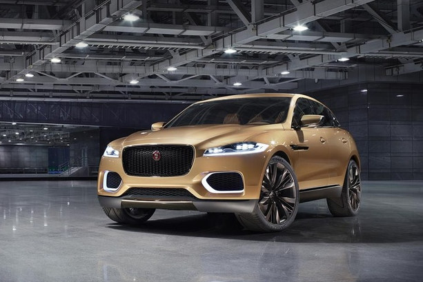 liquid gold jaguar c x17 unveiled in china. Black Bedroom Furniture Sets. Home Design Ideas