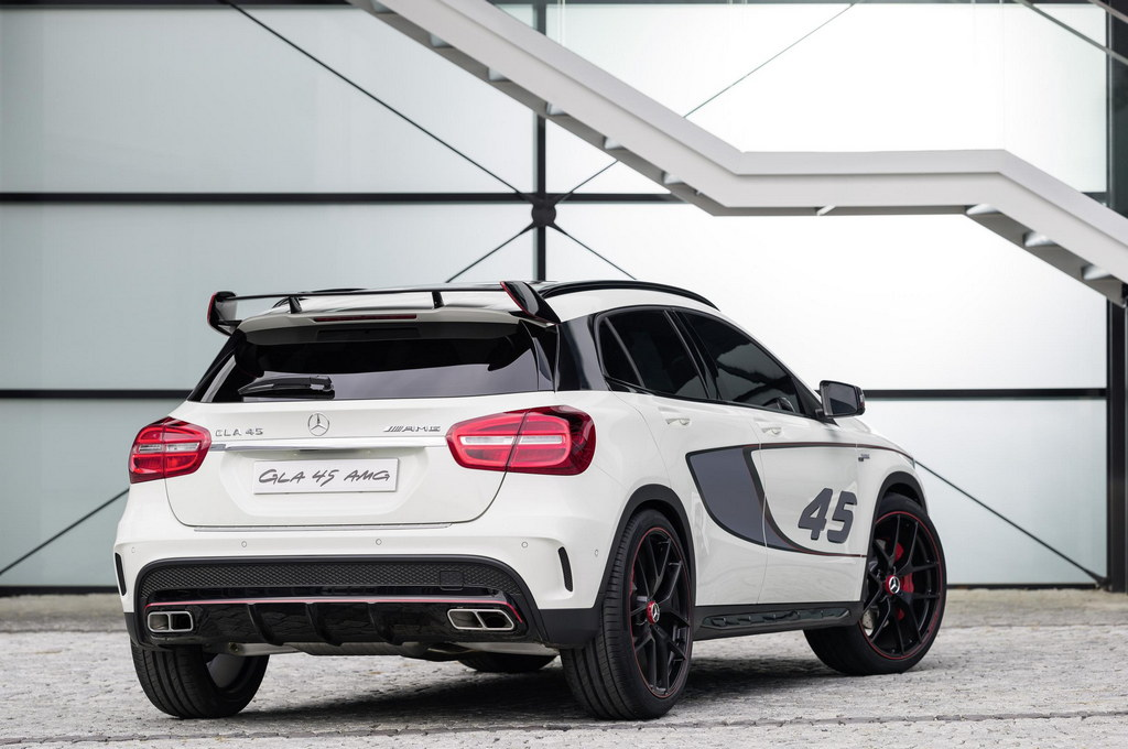 mercedes gla 45 amg debuts in los angeles. Black Bedroom Furniture Sets. Home Design Ideas