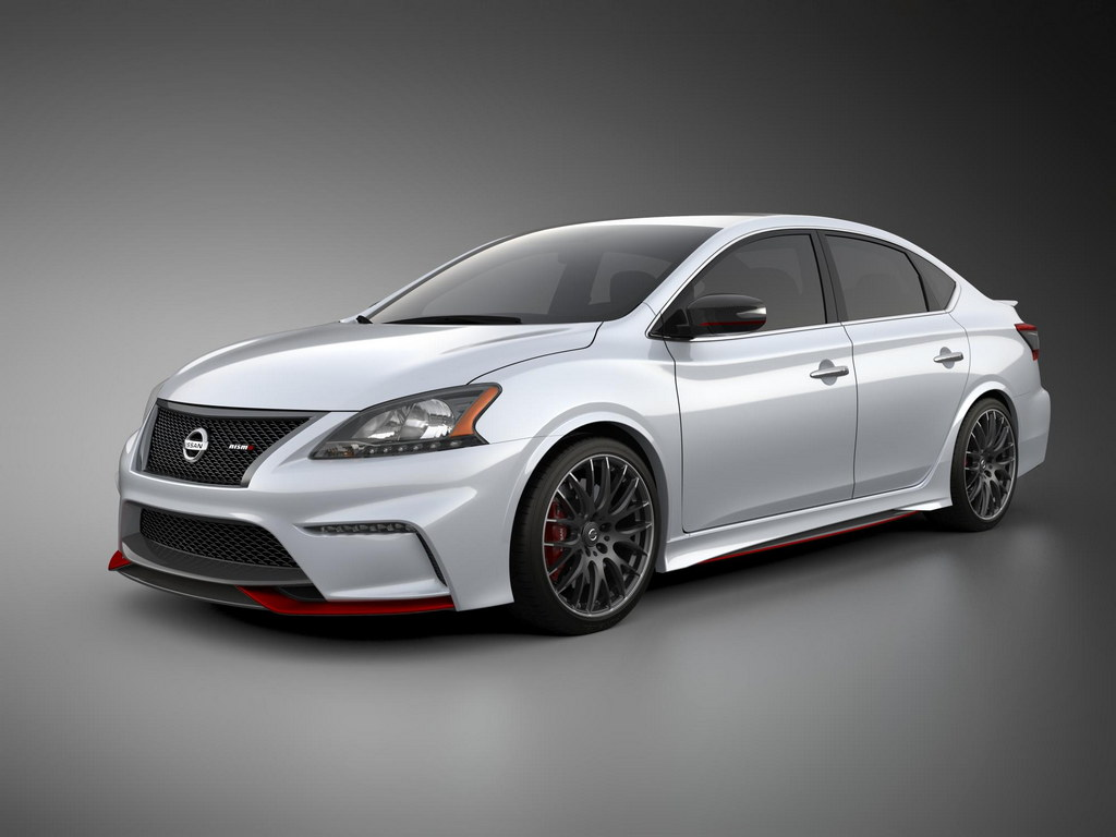 nissan sentra nismo concept revealed at l a auto show. Black Bedroom Furniture Sets. Home Design Ideas