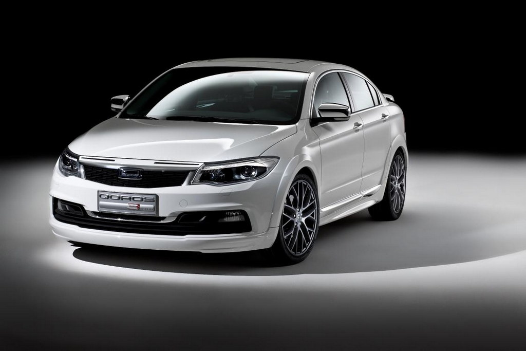 Qoros 3 Style 1 at Qoros 3 Style Accessories Concept Unveiled in China