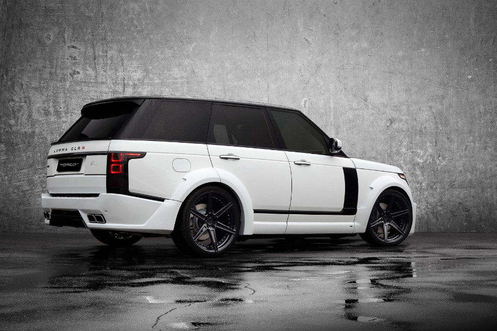 Range Rover Lumma Clr R By Topcar Gets Adv1 Wheels