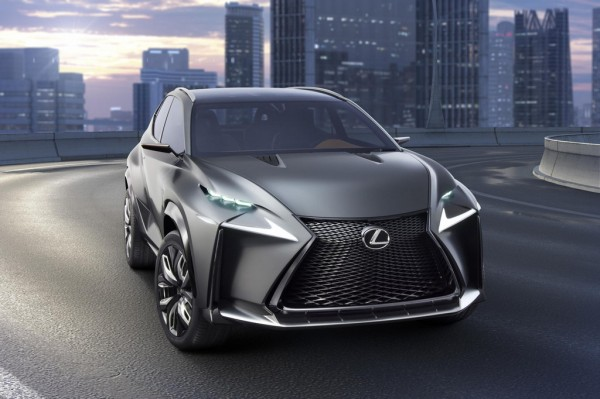 Turbocharged Lexus LF NX 1 600x399 at Turbocharged Lexus LF NX Coming to Tokyo Motor Show