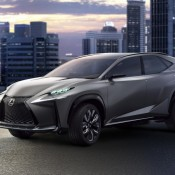 Turbocharged Lexus LF NX 2 175x175 at Turbocharged Lexus LF NX Coming to Tokyo Motor Show