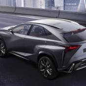 Turbocharged Lexus LF NX 3 175x175 at Turbocharged Lexus LF NX Coming to Tokyo Motor Show