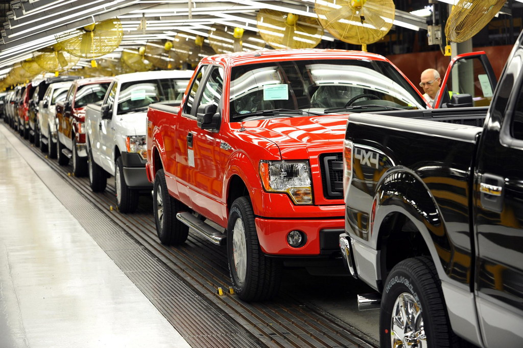 First Cng Powered Ford F 150 Leaves Factory