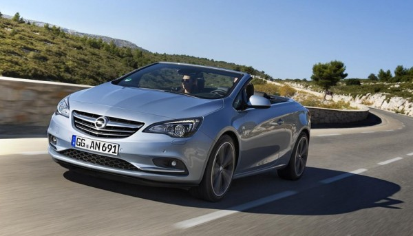 2014 Opel Cascada Turbo 600x343 at 2014 Opel Cascada Turbo Priced at 29,490 Euro
