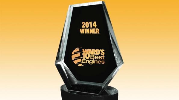 2014 wards 10 best engines award at 2014 Ward's 10 Best Engines Winners Announced