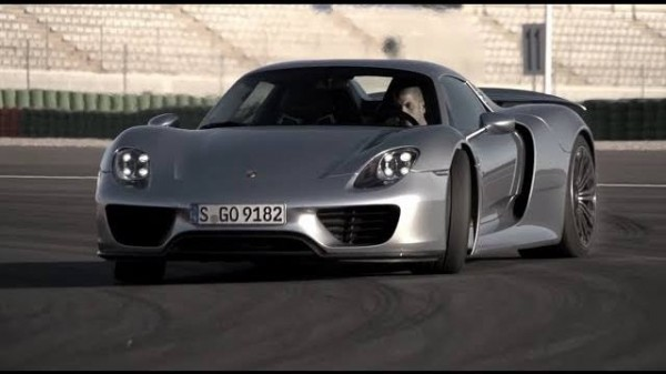 918 harris sideways 600x337 at Chris Harris Gets to Grips with Porsche 918 Spyder