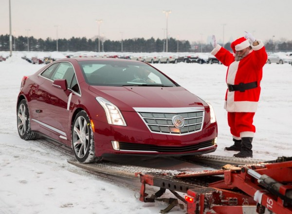 Cadillac ELR Delivery 1 600x440 at Cadillac ELR Hits the Showrooms in Time for Christmas