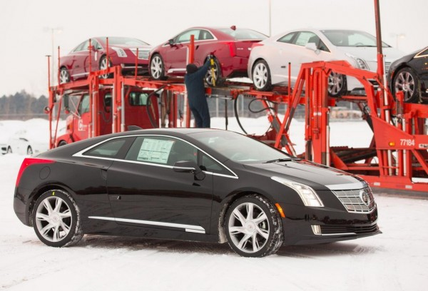 Cadillac ELR Delivery 2 600x408 at Cadillac ELR Hits the Showrooms in Time for Christmas