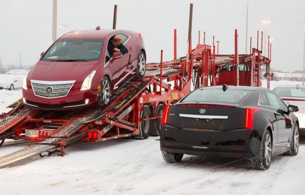 Cadillac ELR Delivery 3 600x384 at Cadillac ELR Hits the Showrooms in Time for Christmas